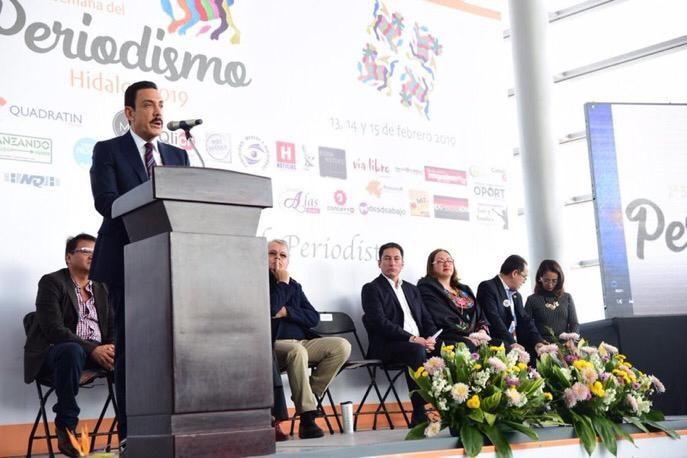 Omar Fayad inaugura la segunda semana del Periodismo Hidalgo 2019