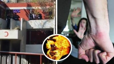 Encuentra a su esposa siendo infiel con vecino, la golpea y le prende fuego. Noticias en tiempo real