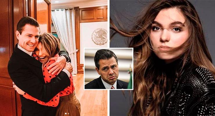 Sofía Castro se olvida de Peña Nieto en sentido festejo de San Valentín