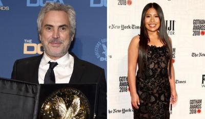 ¡Huele a Oscar! Cuarón se lleva premio del Sindicato de Directores por Roma