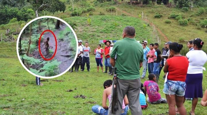 Supuesto duende enciende alarmas en pueblo tras desaparición de niña