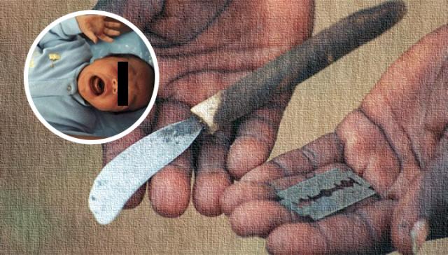 Padres provocan hemorragia y paro cardiaco a bebé tras hacer circuncisión casera