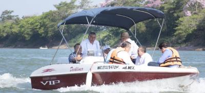 Adán Augusto recorre el Río Usumacinta ante emergencia por sequía. Noticias en tiempo real