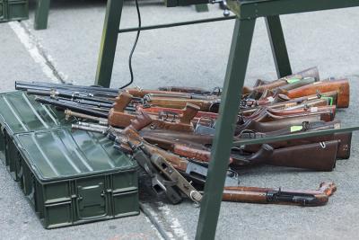 Sedena inicia campaña de canje de armas por electrodomésticos en Tabasco