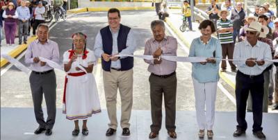 Marco Mena entrega puente vehicular en Ixtacuixtla con inversión de más de 9 mdp