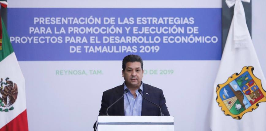 Francisco García presenta estrategias de desarrollo económico para Tamaulipas