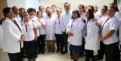 Cuitláhuac García inaugura centro de salud en Poza Rica