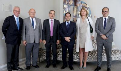 Vila expone ventajas competitivas de Yucatán a embajadores de Europa e Israel