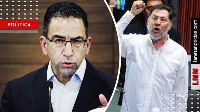 Lozano arremete contra AMLO por supuesta reelección; Noroña lo deja en ridículo