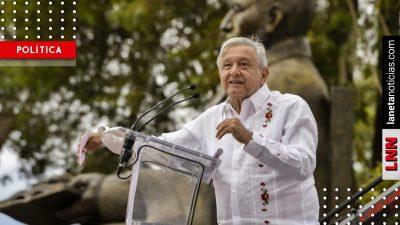 La promesa de AMLO a Benito Juárez: en 2024 ya no habrá migrantes mexicanos