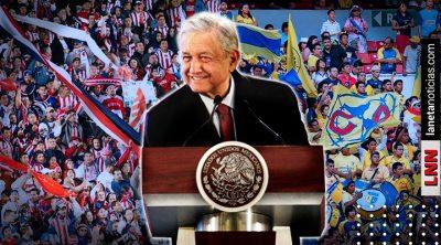 Culpan al gobierno de AMLO por baja asistencia en estadios de la Liga MX