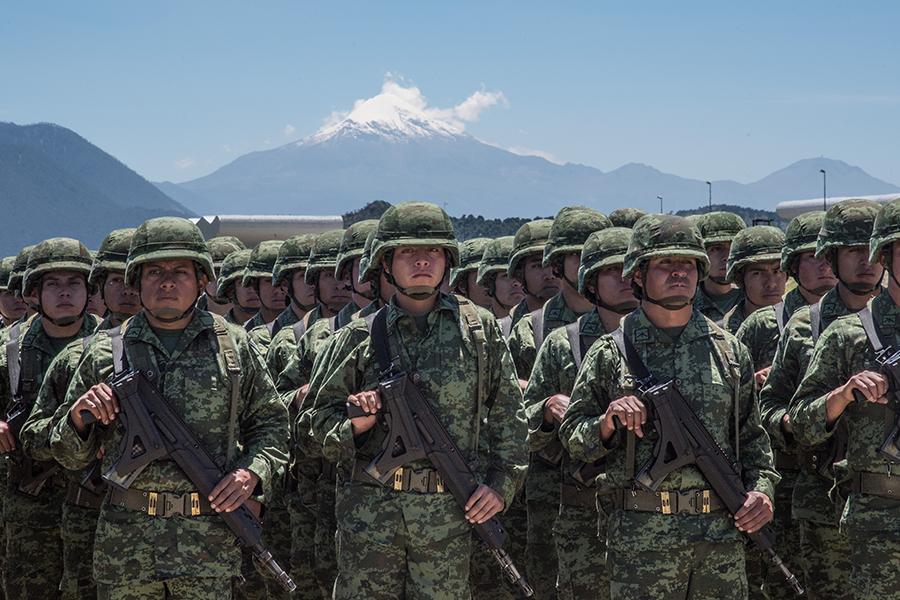 Sedena y SSP Puebla promueven acciones sobre prevención del delito en negocios