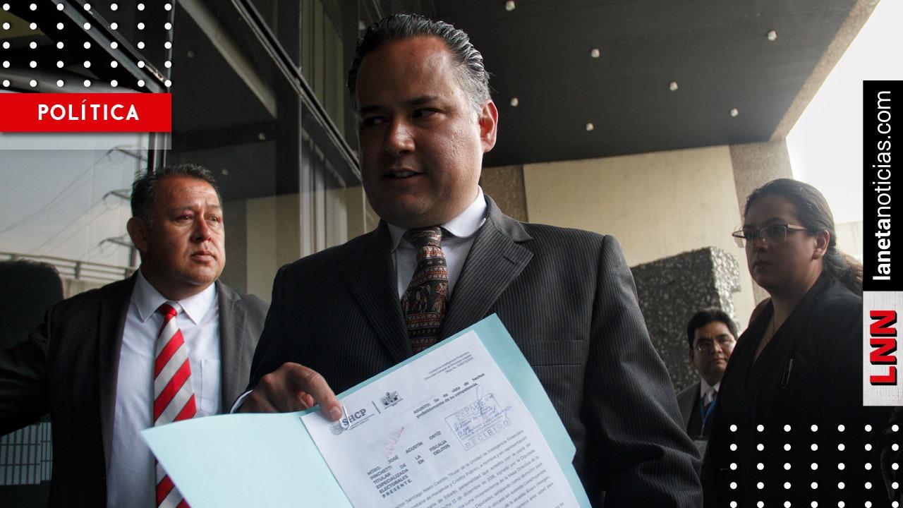 Santiago Nieto lleva denuncia a la Fepade por campaña negra en 2018 contra AMLO