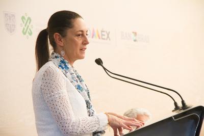 Claudia Sheinbaum informa sobre obras de mantenimiento de red vial en CDMX