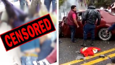 Circulan impactantes imágenes de familia fallecida en aparatoso accidente