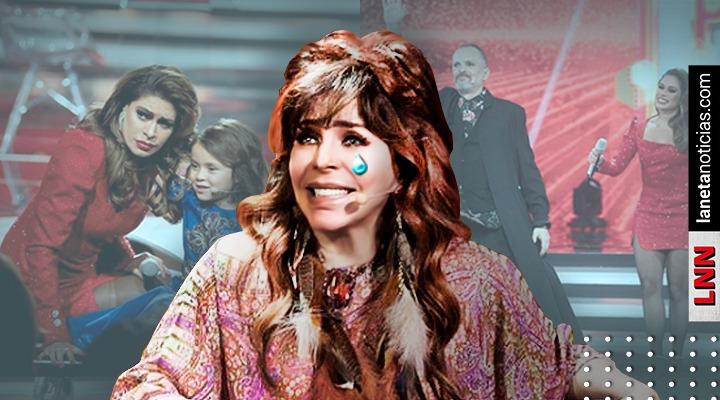 Me dio un pinc… coraje: Verónica Castro llora en Pequeños Gigantes