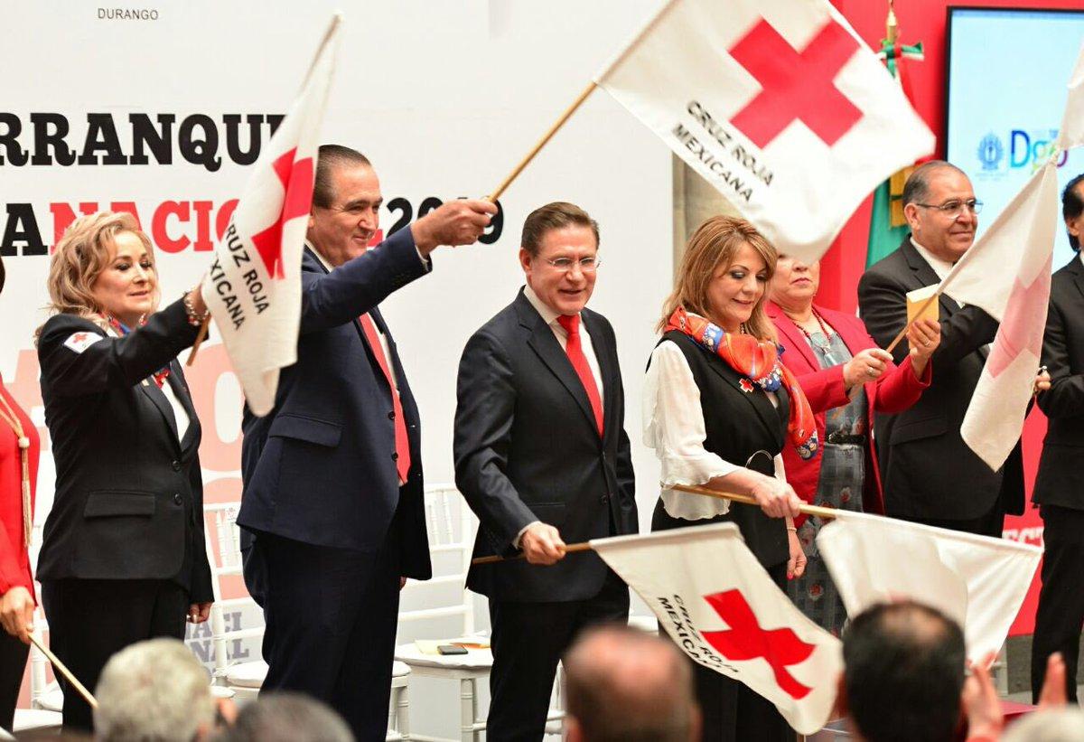 Durango llama a apoyar colecta de Cruz Roja para lograr meta de 10 mdp