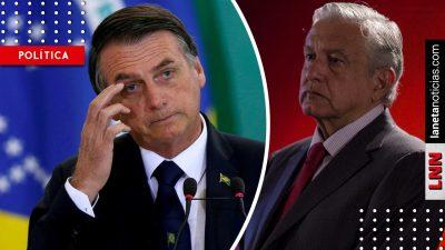 Así reaccionó AMLO tras apoyo de Bolsonaro al muro fronterizo de Trump