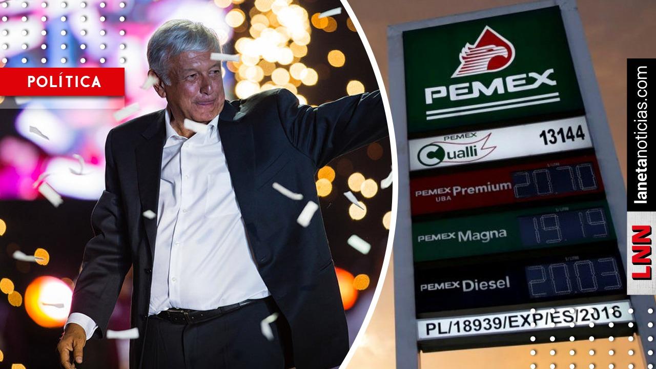 ¿Cuánto bajaría la gasolina con el estímulo fiscal que prepara AMLO?