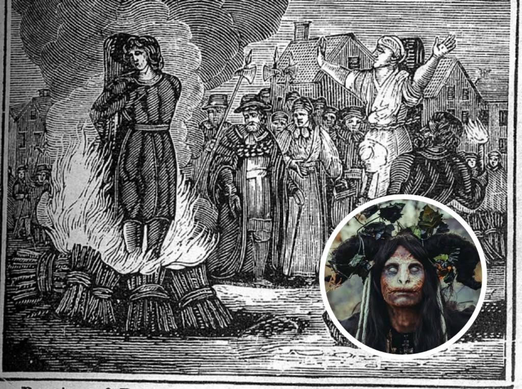 Agnes Sampson: la mujer acusada de brujería que terminó sus días en la hoguera