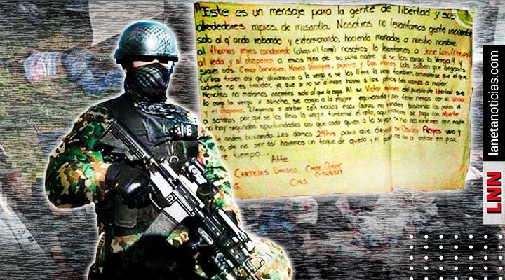 CJNG anuncia alianza de cárteles dejando temible advertencia en Veracruz
