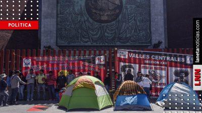 Diputados suspenden sesión por bloqueos de la CNTE; buscan diálogo respetuoso