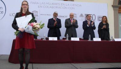 Orgullo nacional: científica mexicana, entre las 15 más prometedoras del mundo