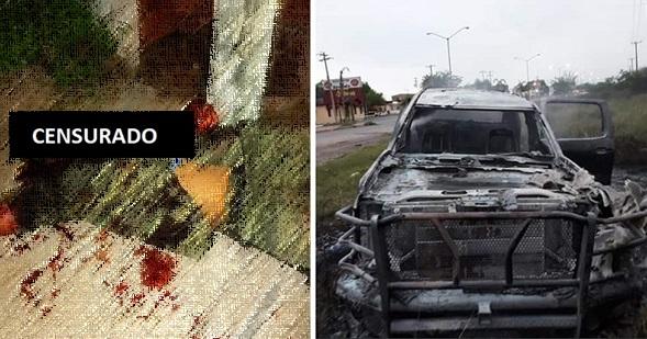 Difunden sangrientas imágenes de cuerpos tras enfrentamiento entre el CDG y CDN