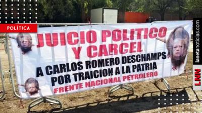 ¿Romero Deschamps quema pruebas en su contra? ¡Ni fue al acto del 18 de marzo!