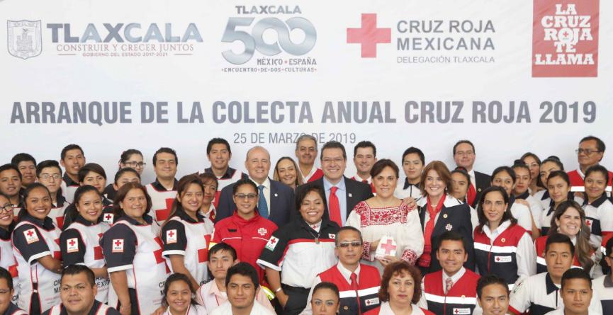 Gobierno estatal tiene el compromiso de respaldar a la Cruz Roja: Marco Mena