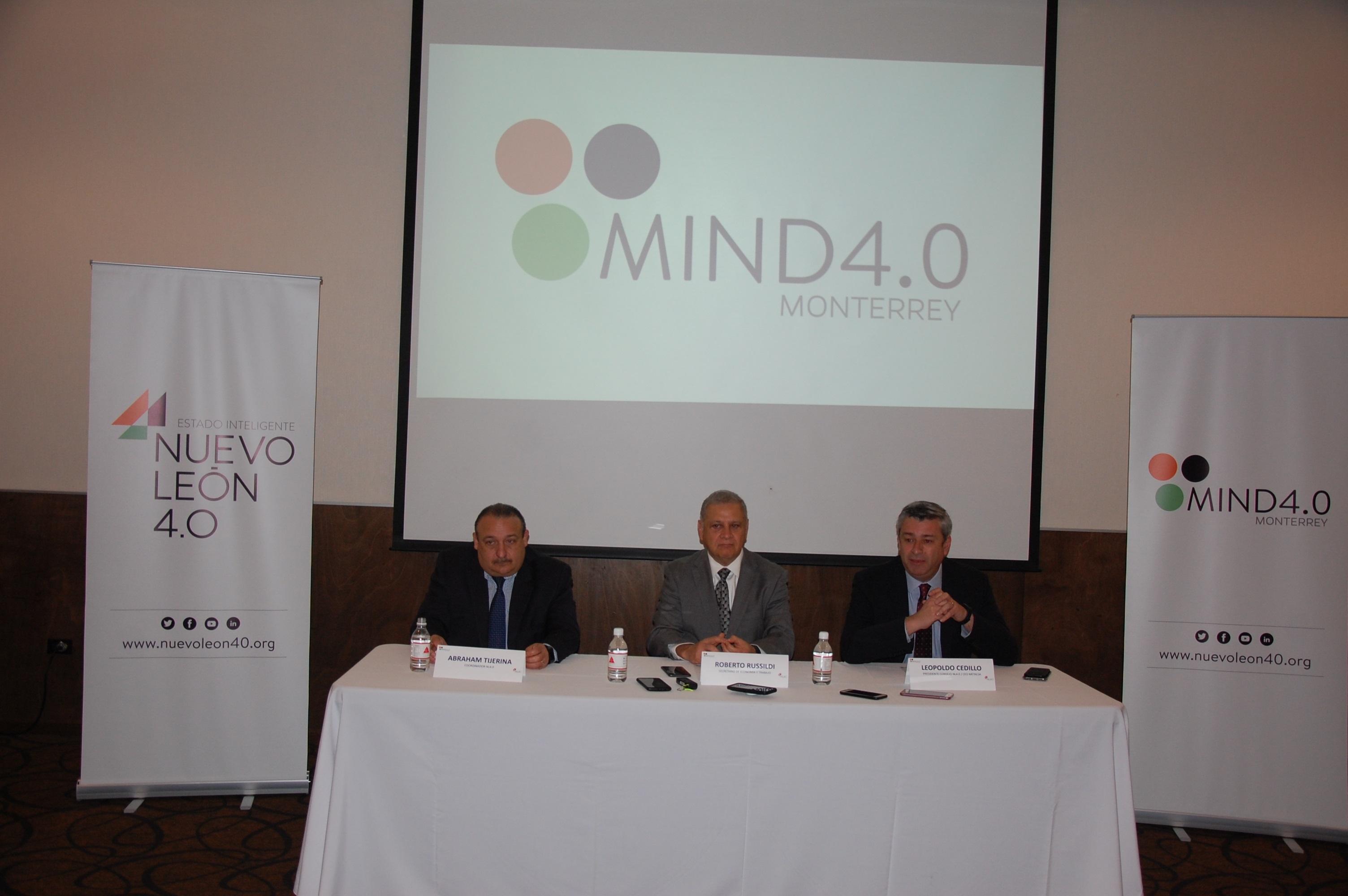 Gobierno de Nuevo León impulsa la tecnología con MIND4.0 Monterrey