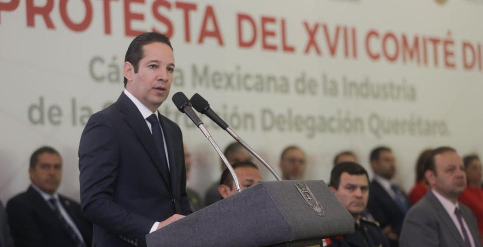 Francisco Domínguez anuncia 820 mdp para infraestructura en Querétaro