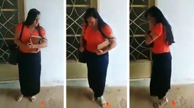 Sale a predicar la palabra de Dios; baila una cumbia mientras le abren