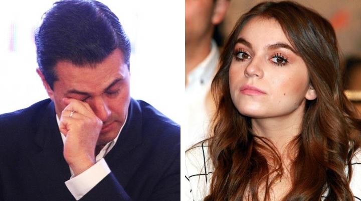 Sofía Castro habla sobre el 'amorío' con su hermanastro; elude tema Peña Nieto