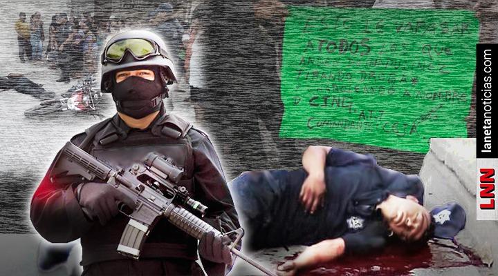 Comandante Ceja del CJNG deja advertencia tras ejecución de policía en Oaxaca