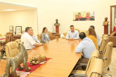 Rutilio Escandón suma esfuerzos con Servicios Caritativos Sud en pro de Chiapas