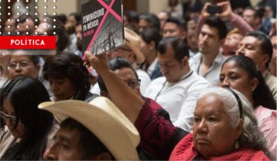 Mujeres, en peligro de extinción: cada día hay dos feminicidios en México