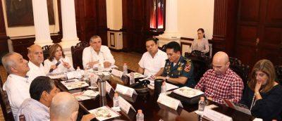 Adán Augusto refuerza estrategias para el combate del dengue en Tabasco