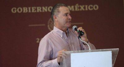 Quirino Ordaz anuncia inversión de más 300 mdp para seguridad en Sinaloa