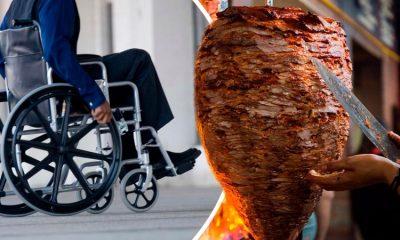¡Milagro! Tacos hacen que hombre en silla de ruedas pueda caminar