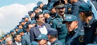 Guanajuato tendrá a la mejor corporación policiaca del país: Sinhue
