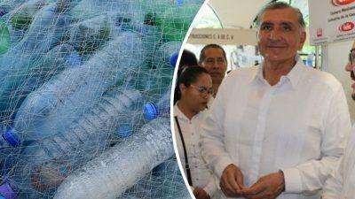 Adán Augusto lanza iniciativa de ley para regular el uso de plásticos