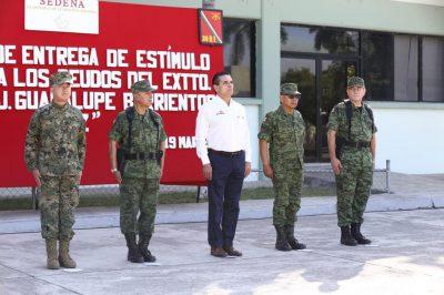 Silvano Aureoles promete castigar las agresiones contra el Ejército Mexicano