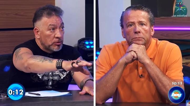 Carlos Trejo y Alfredo Adame se dan con todo en Hoy; pactan pelea a 3 asaltos
