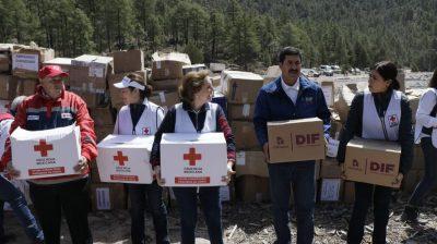 Javier Corral reconoce a la Cruz Roja por brindar ayuda humanitaria en Chihuahua