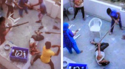 Estremecen imágenes de brutal ataque a familia musulmana en India