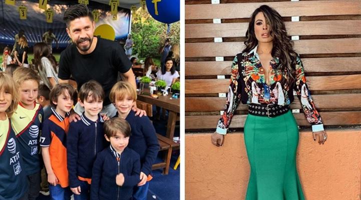 Galilea Montijo muestra influencias sorprendiendo a su hijo con Oribe Peralta