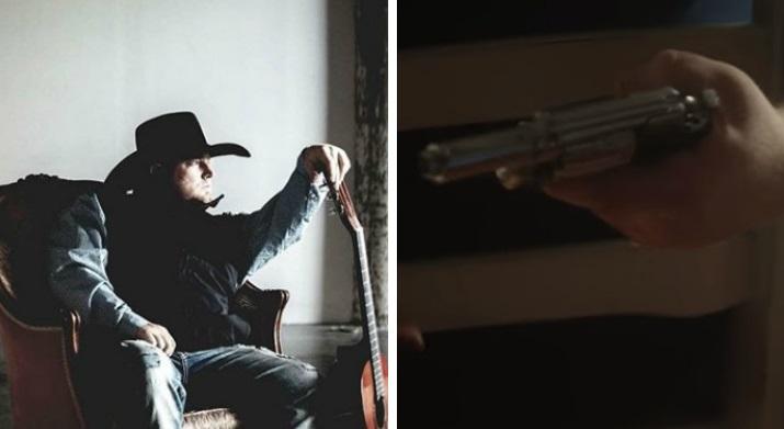 Justin Carter: el cantante que murió tras recibir un disparo en plena filmación