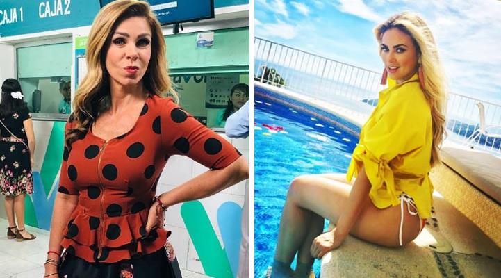 Rocío Sánchez Azuara supera a Aracely Arámbula mostrando sensual cuerpo