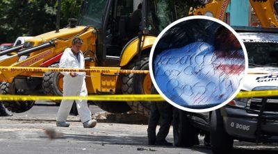 Dejan temible advertencia a presunto huachicolero descuartizado en Jalisco
